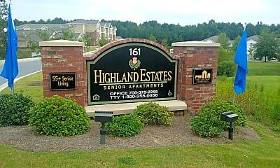 Highland Estates Senior apartment, 1