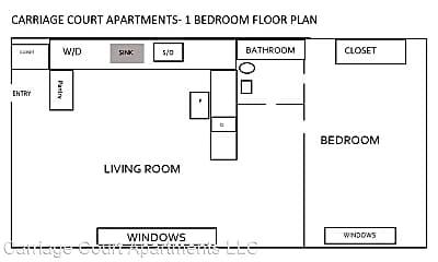 Bathroom, 700 Whitman St, 2