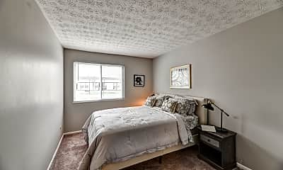 Bedroom, Fox and Hounds Apartments, 2