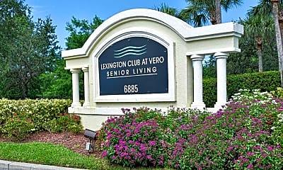 Community Signage, Lexington Club at Vero Senior Living +55, 2