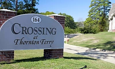 Community Signage, The Crossing at Thornton Ferry, 1