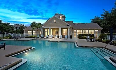 Pool, Lake House Apartments, 0