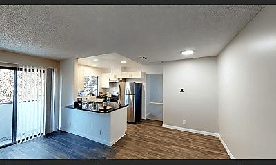 Living Room, 3676 Mentone Ave, 1