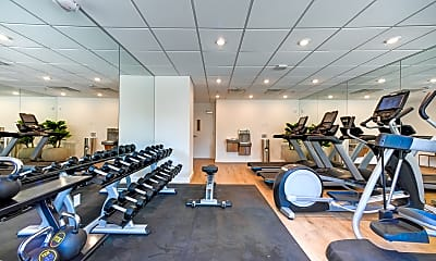 Fitness Weight Room, Logan & Chamberlain - PER BED LEASE, 2