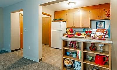 Kitchen, Lyndale Garden Apartments, 0