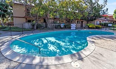 Pool, Mira Loma Apartments, 0