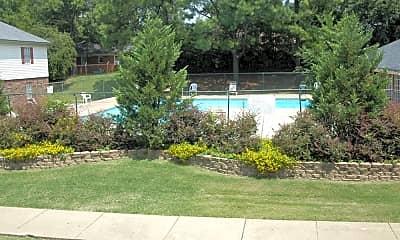 Pool, Foxhaven Apartments, 0