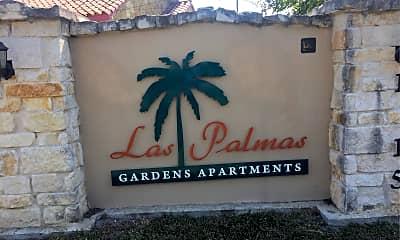 Las Palmas Gardens, 1