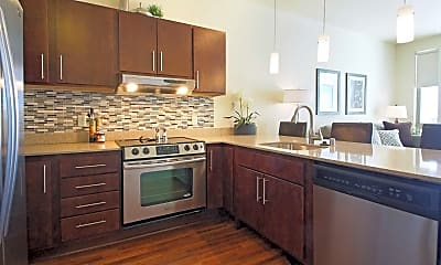 Kitchen, Avenir Apartments, 0