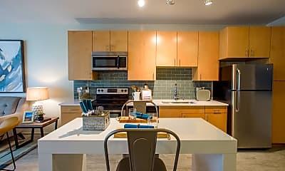 Kitchen, LoHi Gold Apartments, 1