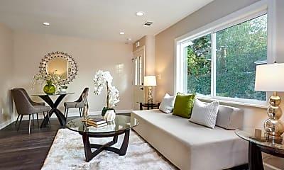 Living Room, 518 Cedar St 520, 1