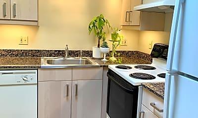 Kitchen, Camelot Apartments, 1