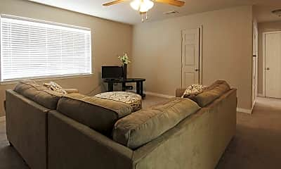 Living Room, Gulf Grove and Oak Park Apartments, 1
