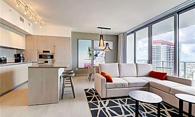 Living Room, 4010 S Ocean Dr R2306, 0