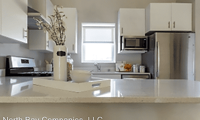Kitchen, Lowry Row Homes, 2