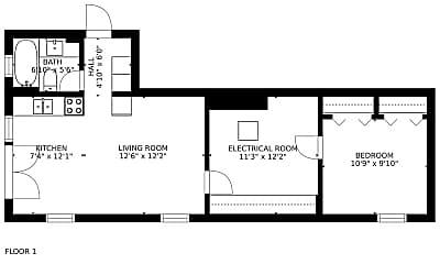 Patio / Deck, 954 11th St, 2