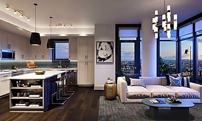 Living Room, 188 E Jefferson St 1605, 0