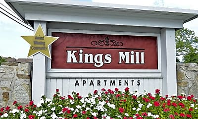 Community Signage, Kings Mill, 2