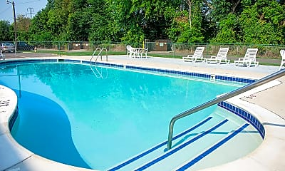 Pool, Outer Drive Manor, 1