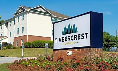 Community Signage, Timbercrest, 2