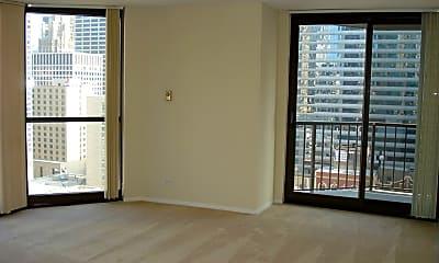 Living Room, 10 E Ontario St APT 1702, 0