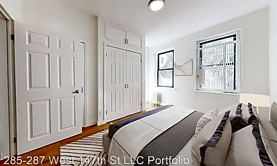 Bedroom, 287 W 147th St, 0
