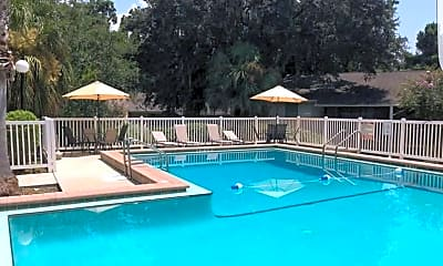 Pool, Forest Hills Apartments, 1