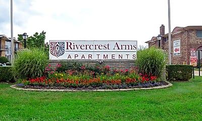 Community Signage, Rivercrest Arms Apartments, 2
