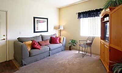 Living Room, Villas at Sunrise Mountain, 1