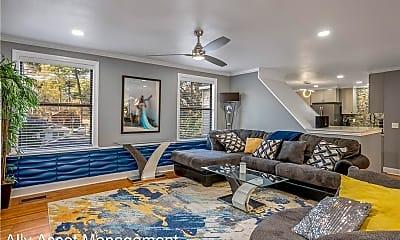 Living Room, 4112 Fairfield Ave, 2