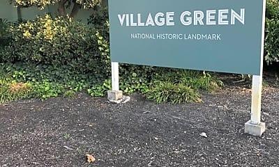 Community Signage, 5302 Village Green, 2