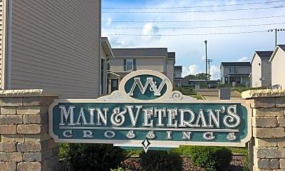 Main  Veterans Crossings, 1