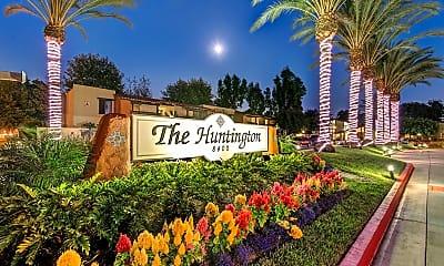 Community Signage, The Huntington, 1