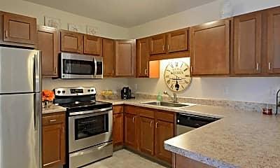 Kitchen, Willoughby Hills Senior Apartments, 0