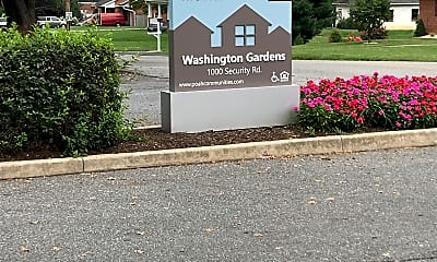 Washington Gardens Apartments Townhouses, 1
