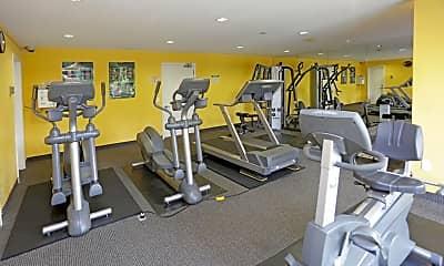 Fitness Weight Room, Wayzata Woods, 1