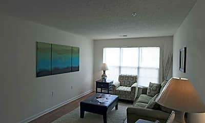 Living Room, Collegiate Commons, 1