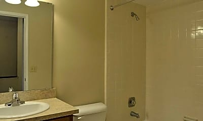 Bathroom, Pembrook Apartments, 2