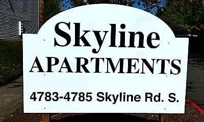 Community Signage, 4783-4785 Skyline Rd. S., 1