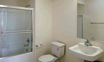 Bathroom, Wyandotte Apartments, 2