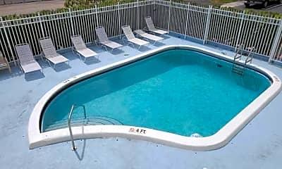Pool, 3915 S Flagler Dr, 2