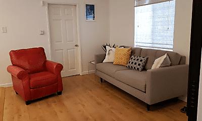 Living Room, 2306 1/2 Ocean Ave, 1
