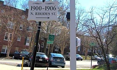 Community Signage, 1904 N Rhodes St 56, 2