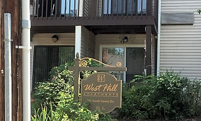 West Hill Apts, 1