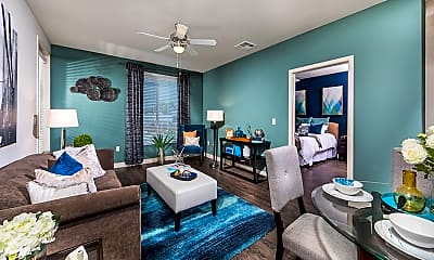 Living Room, Rize Irvine Apartments, 1