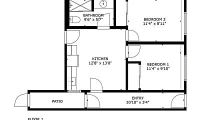 Bedroom, 222 Beverly St, 2