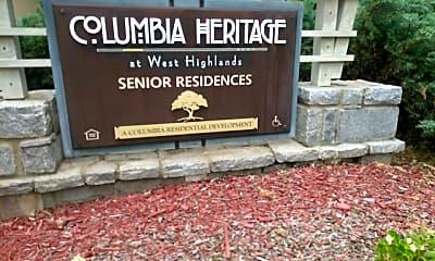 Columbia Heritage Senior Residences, 1