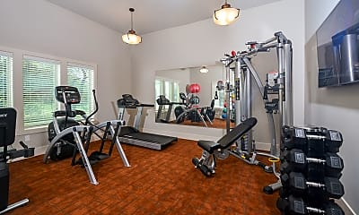 Fitness Weight Room, The Starling, 2
