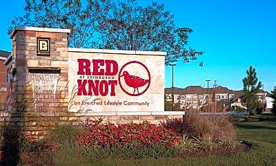Community Signage, Red Knot at Edinburgh, 0