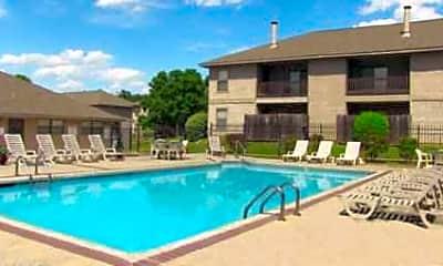 Pool, Cedar Creek Village Apartments, 0